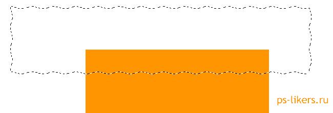 как создать волнистую линию в фотошоп