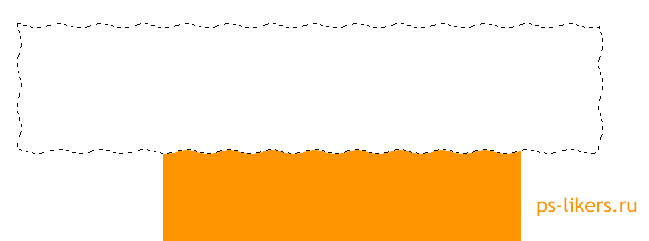 Как сделать волнистую линию в фотошопе фото 700